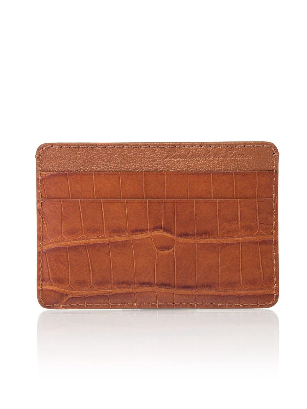 card holder leather men