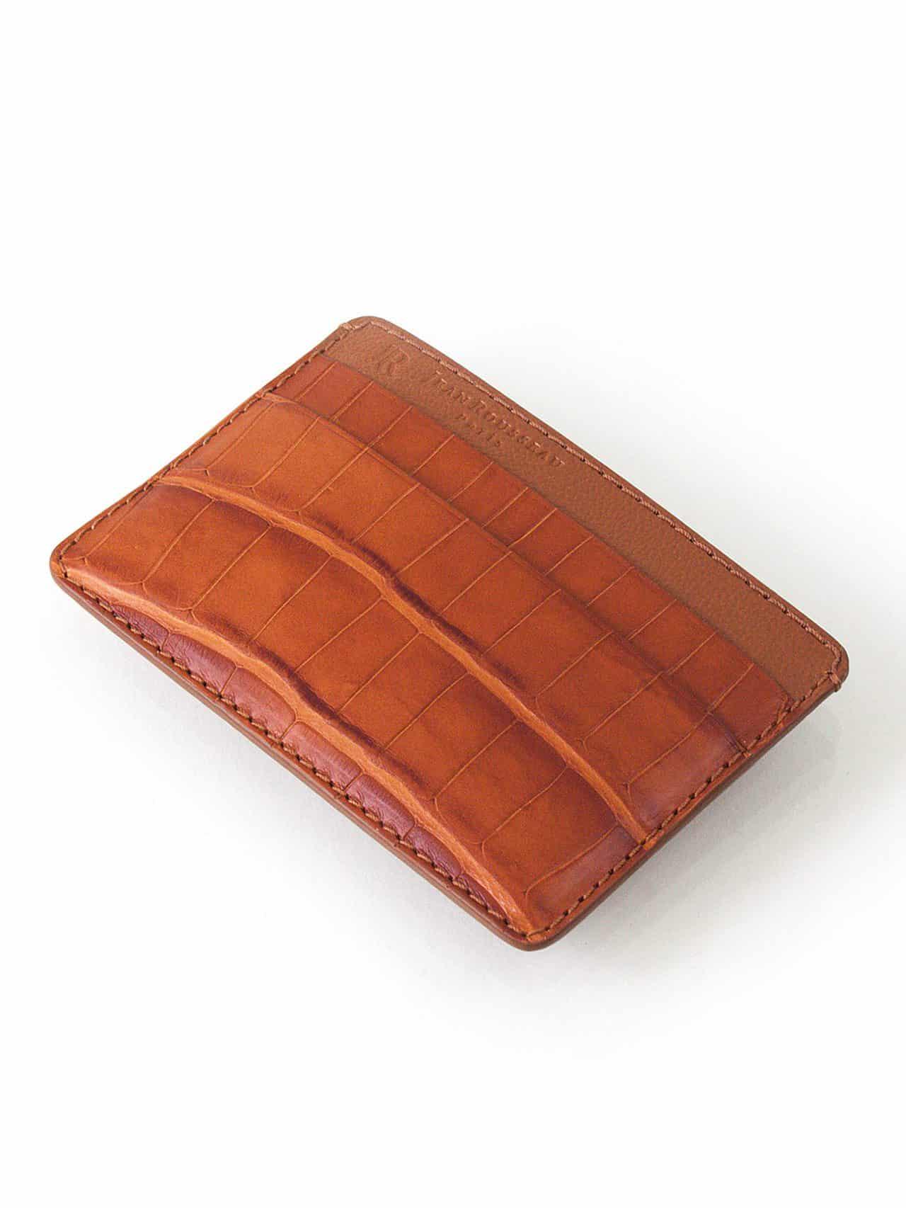 Porte carte cuir homme