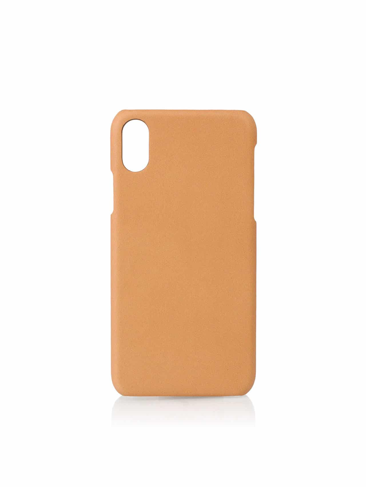 Iphone case X leather made in france
