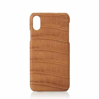 Iphone case croco made in france