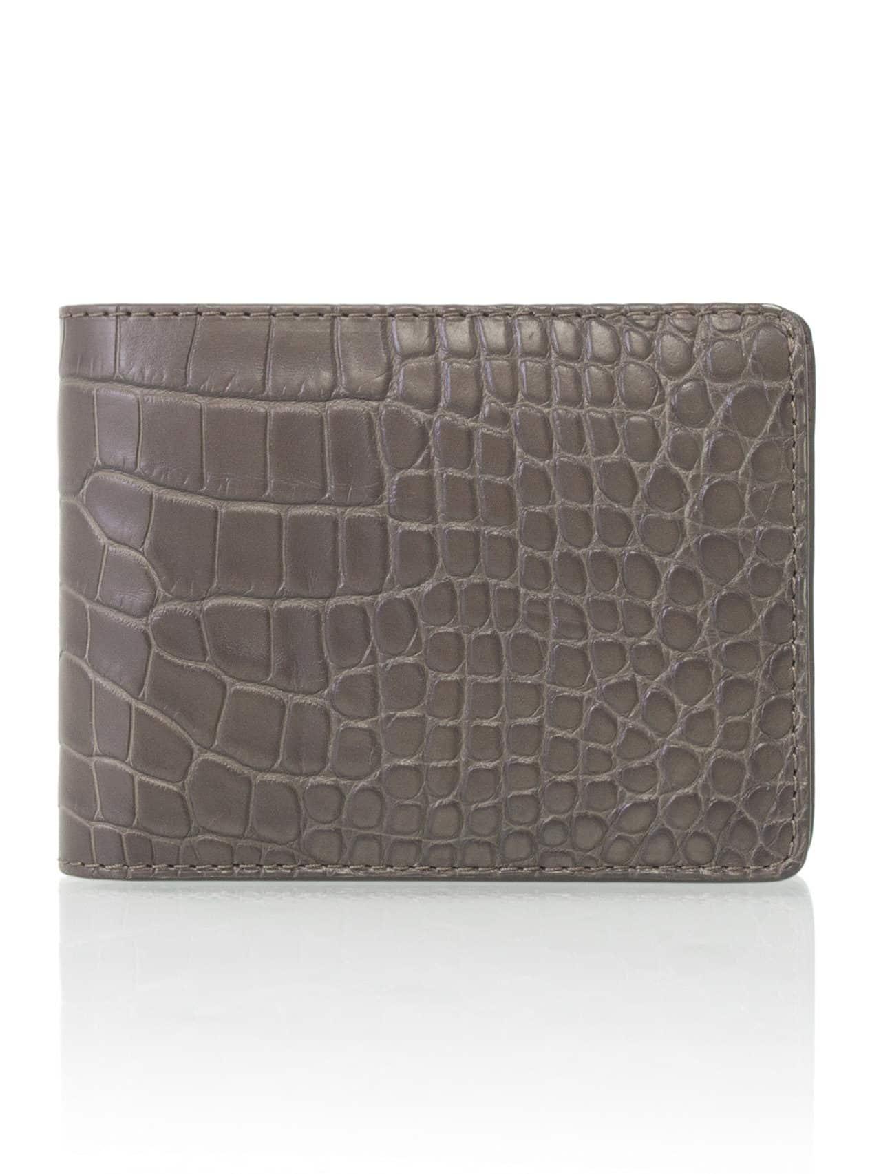 alligator wallet