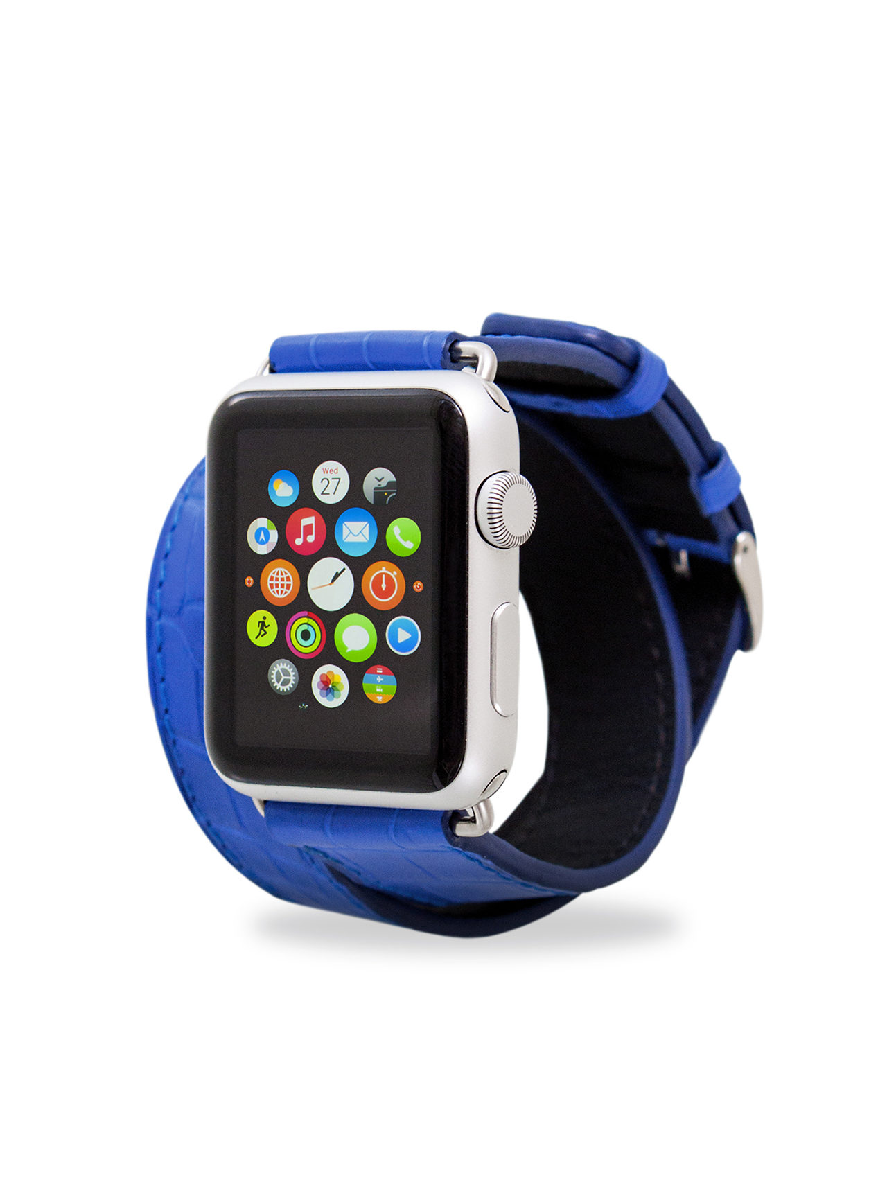 apple watch bands alligator blue