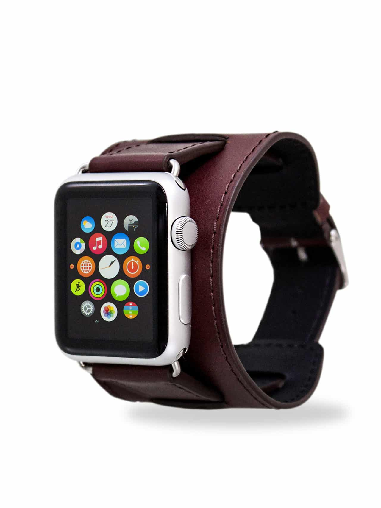 apple watch bands calf brown
