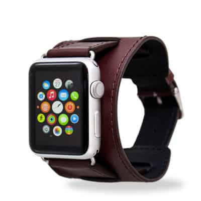 Bracelet apple watch cuir 42mm