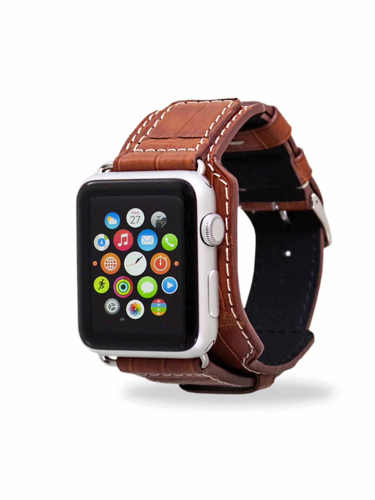 Bracelet apple watch cuir 42mm