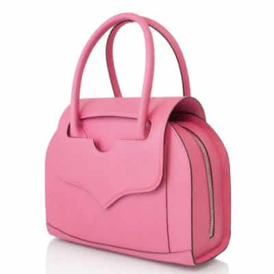 Handbag calf leather