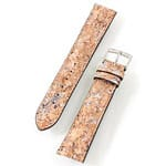 Cork watch strap