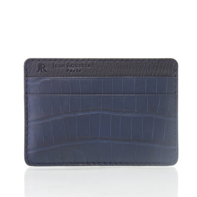 card holder alligator