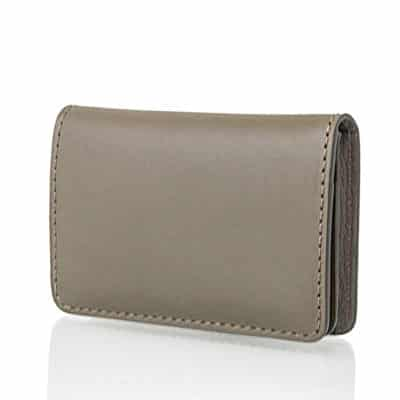 Card holder leather