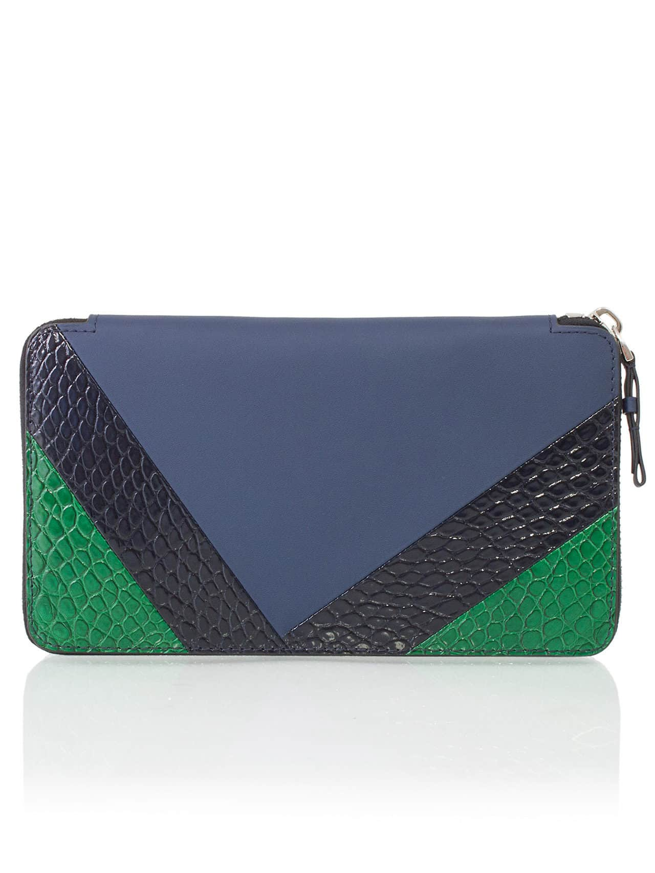 zippy wallet alligator