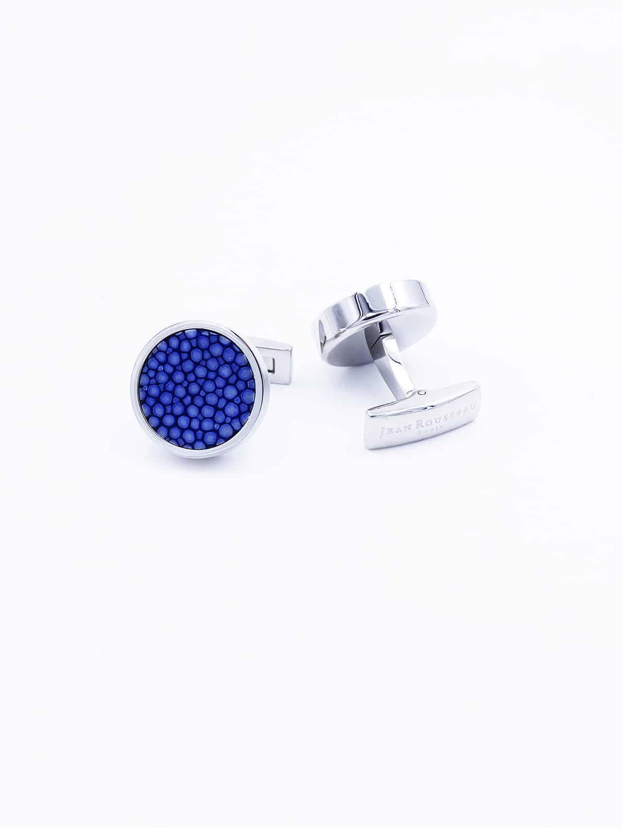 Cuflink blue
