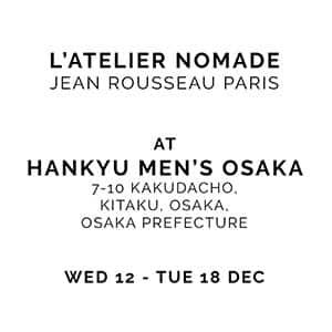 Atelier-Nomade_Jean-Rousseau_custom-made-watch-straps_Hankyu Osaka