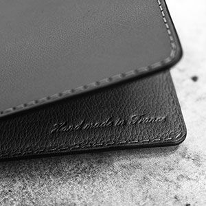 handmade in France leather goods