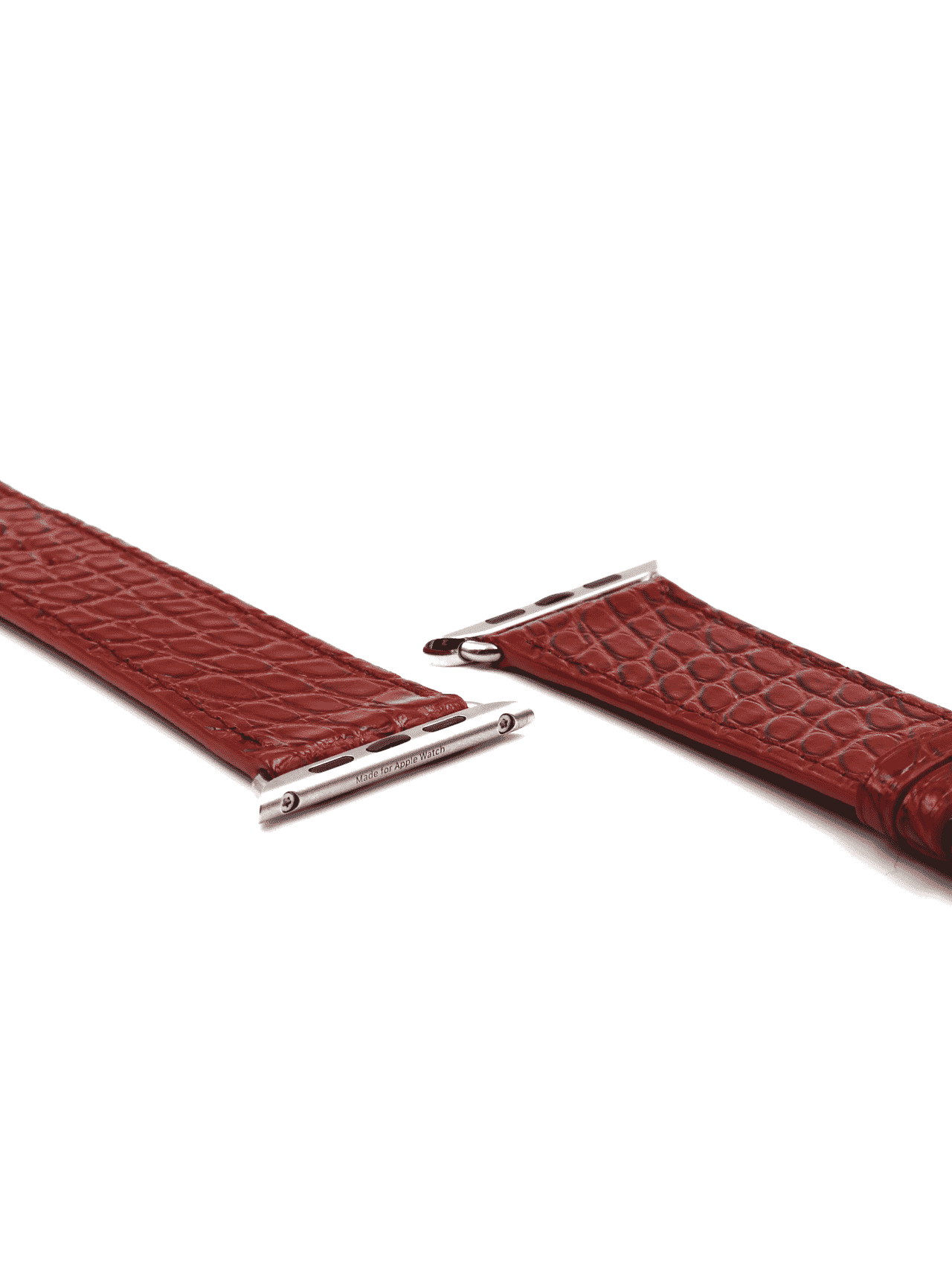 Apple watch strap brown
