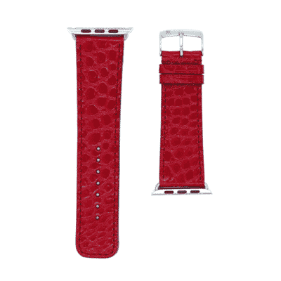 Apple watch strap red