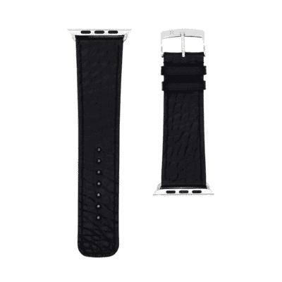 Apple watch strap black alligator