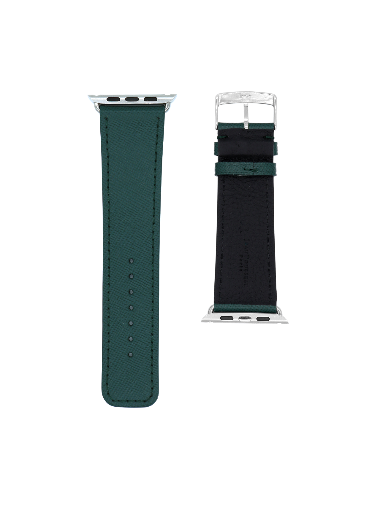 Apple watch strap embossed calf