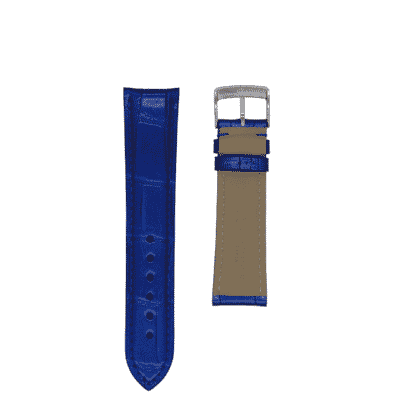 blue alligator strap