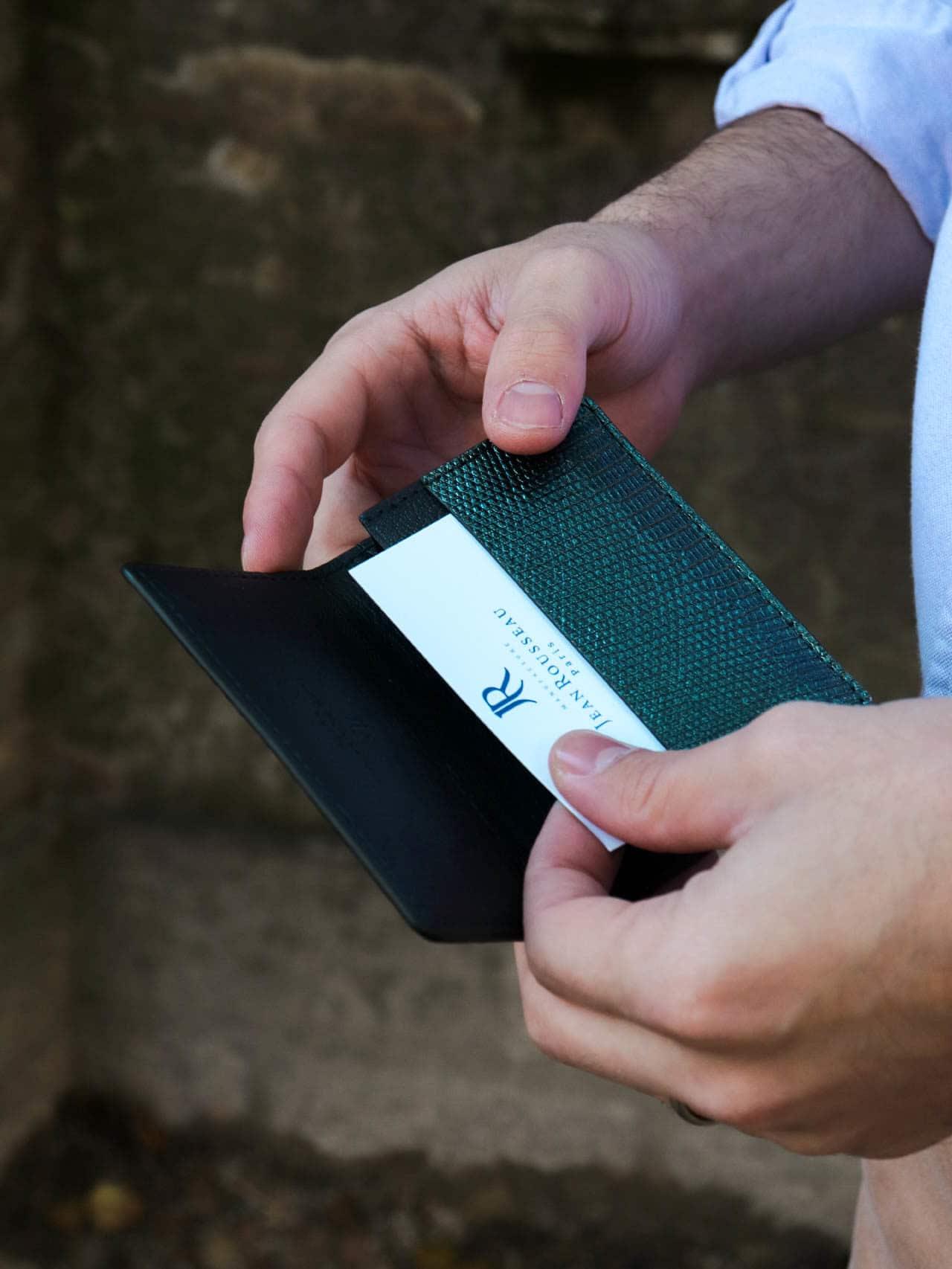 lizard card holder