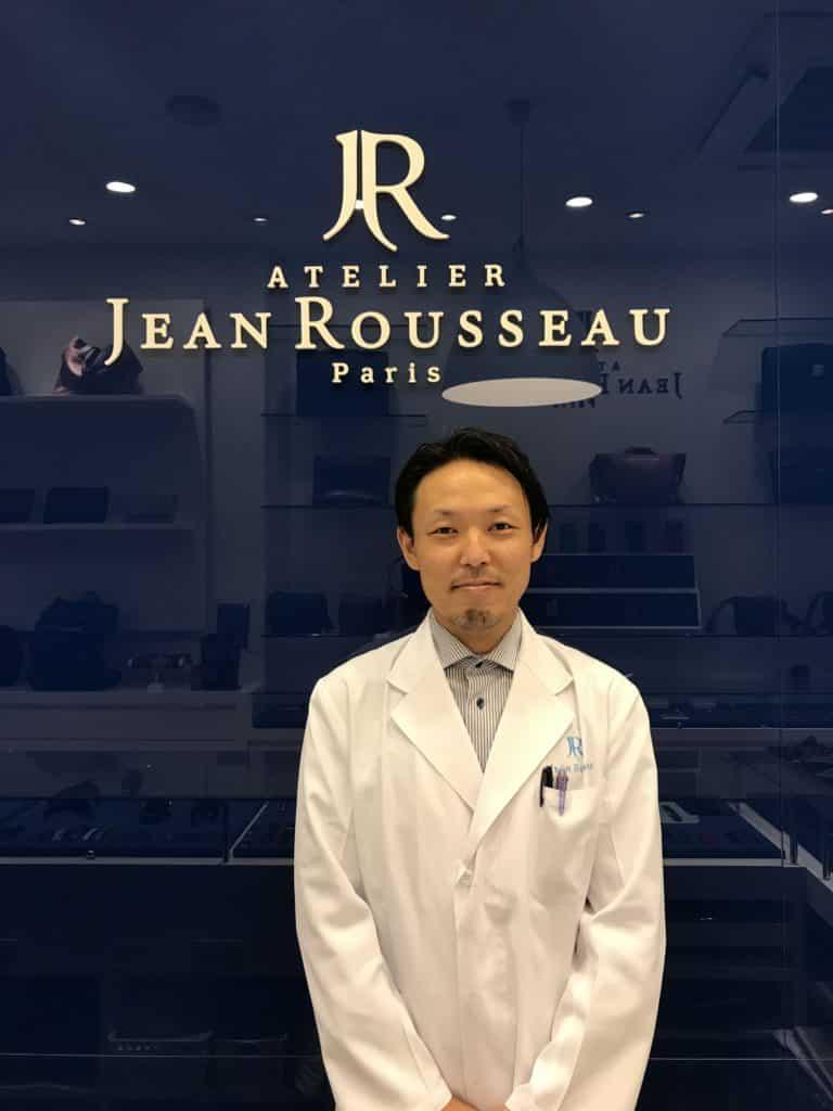 Atelier Jean Rousseau Tokyo craftsman portrait